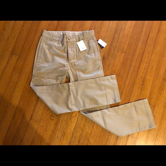 558ae824a18a63 Gap Kids Uniform Khaki Pants NWT Size 16